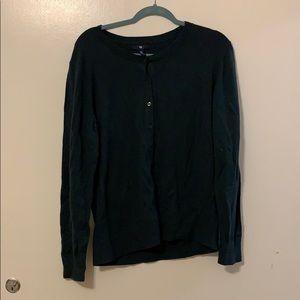 Dark/Forest Green Gap Cardigan Size XL